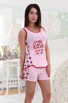 Пижама 1894 розовый