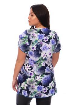 Блузка Перла фиолетовый