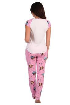 Пижама Барни розовый