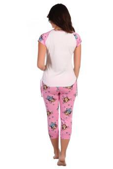 Пижама Клепа розовый
