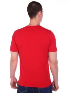 Футболка мужская Демид красный