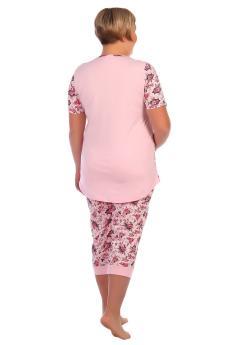 Пижама женская Дарья розовый