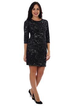 Платье Серпантин черный