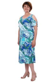 Платье Арина бирюза
