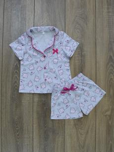 Пижама ПД-67 печенки шорты, трикотаж