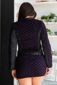 Костюм 06-001 (Фиолетовая плетенка)