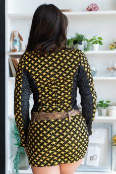 Костюм 06-001 (Желтая плетенка)