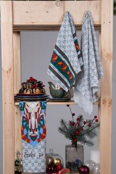 Набор полотенец кухонных Мари Санна Год быка
