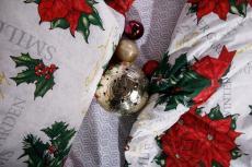 КПБ Рождественская звезда поплин 2 сп. Евро