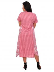 Платье мод. П-460 брусника
