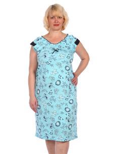 Ночная сорочка мод. НС-41 голубая
