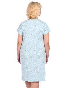 Ночная сорочка мод. НС-38 голубая