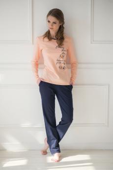 Костюм (блуза+брюки), арт.0501