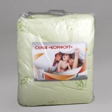 Одеяло детское БАМБУК 300 гр. Карамелька, в 100% полиэстере