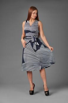 Платье П 706 (графический принт)