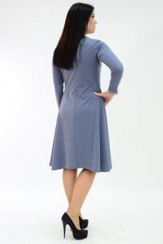 Платье П 510 (серый)
