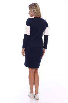 Платье  ПЛ-101п-43 синий