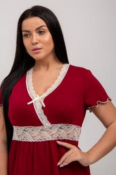 Ночная сорочка НСВС-222 3021 (Бордовый)