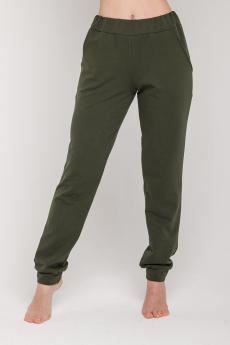 Брюки женские БФ-310 хромово-зелёные