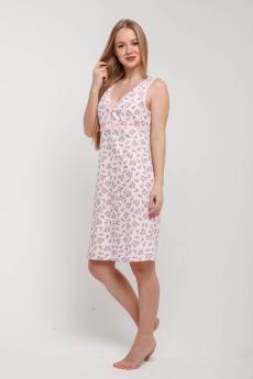 Ночная сорочка НСК-108 розово-светлый