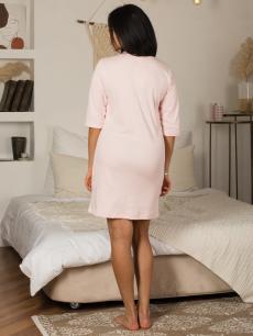 Ночная сорочка НСИ-233 светло-розовая