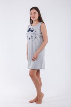 Ночная сорочка НСК-2014 серая