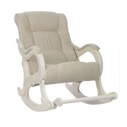 Кресло качалка Модель 77 бежевое