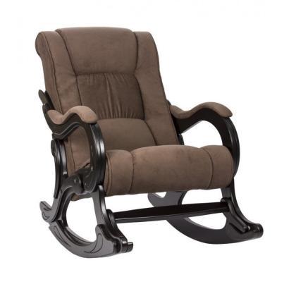 Кресло качалка Модель 77 светло-коричневое
