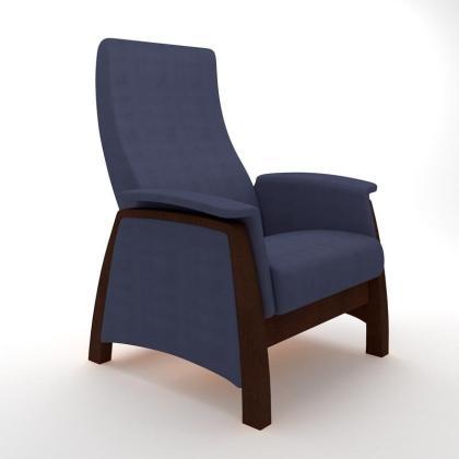 Кресло качалка глайдер Модель G1 синее
