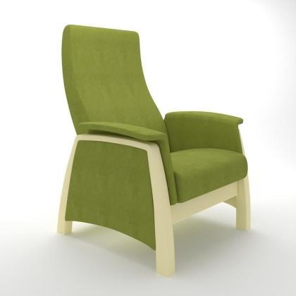Кресло качалка глайдер Модель G1 зеленое