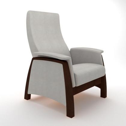 Кресло качалка глайдер Модель G1 серое