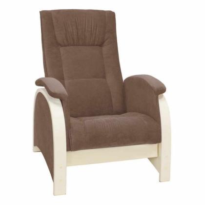 Кресло качалка глайдер Модель G2 коричневое