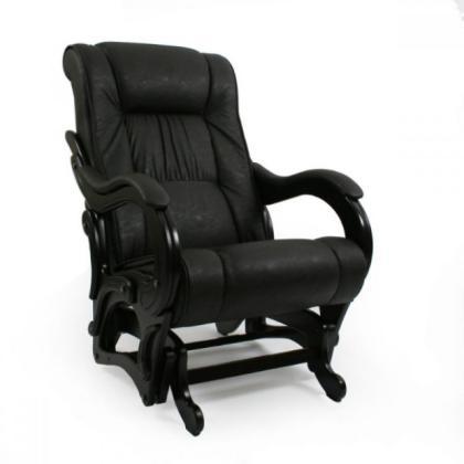 Кресло качалка глайдер Модель 78 черное