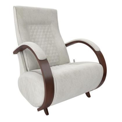 Кресло качалка глайдер Модель G3 светло-серое