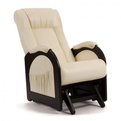 Кресло качалка глайдер Модель 48 без декоративной косички бежевое