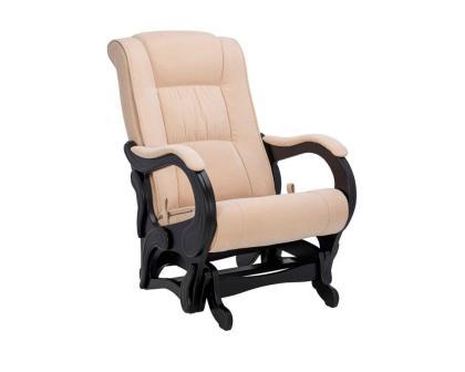Кресло качалка глайдер Модель G78 Люкс бежевое