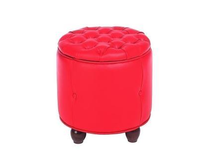 Пуф Вена-1 красный