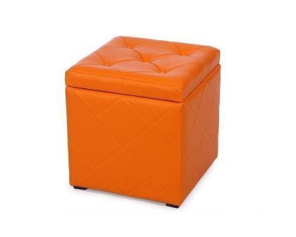 Пуф Ромби-2 оранжевый