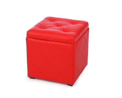 Пуф Ромби-2 красный