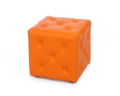 Пуф Ромби-1 оранжевый