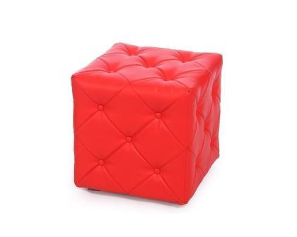 Пуф Ромби-1 красный
