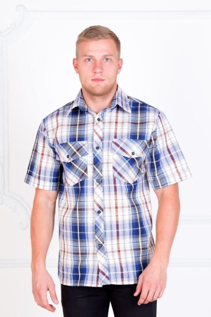 "Рубашка ""Шотландка"" светлая"