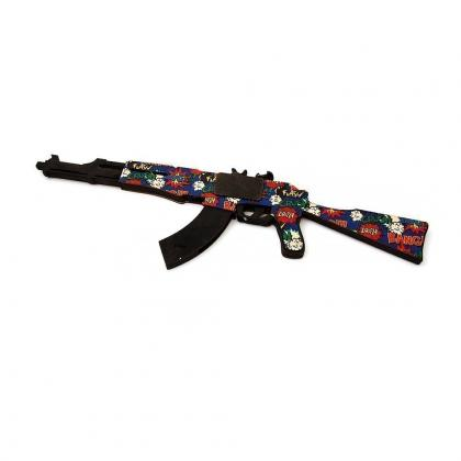 Автомат Калашникова АК47 (sticker-boom)