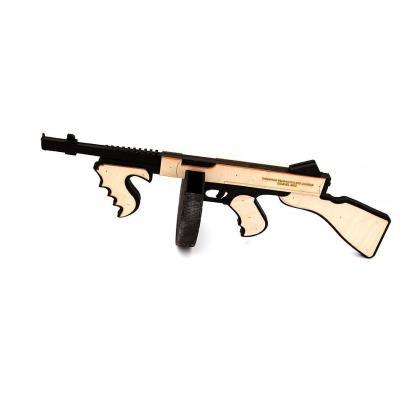 Пистолет пулемёт ППШ (чёрно белый)
