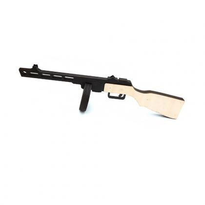 Пистолет пулемёт ППШ 41 (черно белый)