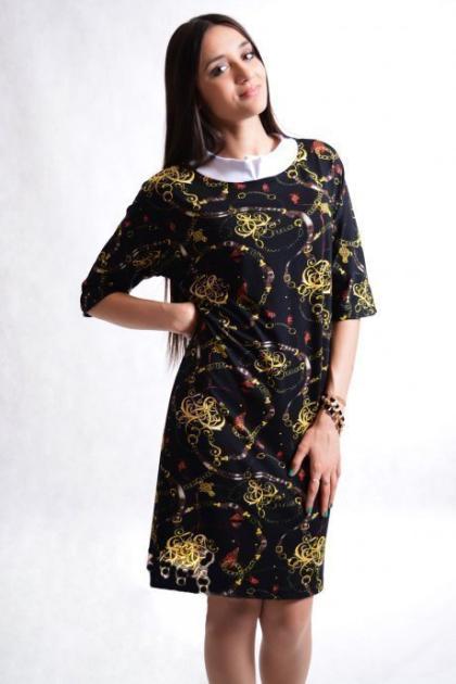 Платье абстракция