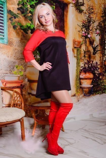 Платье П 340 (черный + красный)