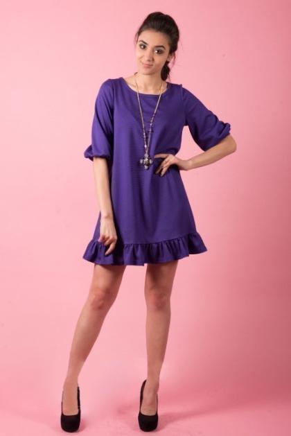 Платье П 374 (фиолет)