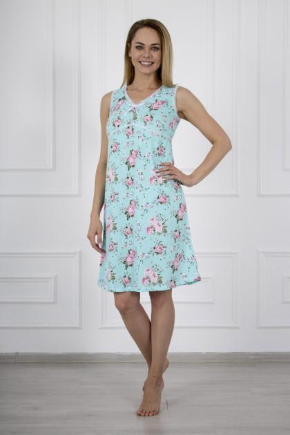 Сорочка женская ск-573 мятная