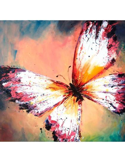 Алмазная мозаика «Бабочка красок»